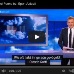 Pleiten, Pech und Vögeln – Untertitelpanne im TV