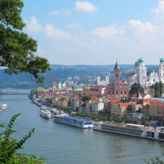 Die Drei-Flüsse-Stadt Passau