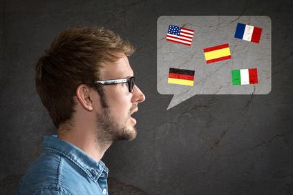 Mehrsprachiger Mitarbeiter