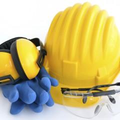 Persönliche Schutzausrüstung für Sicherheit am Arbeitsplatz