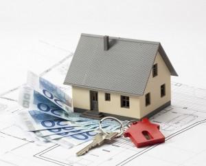 Haus, Geld und Schlüßel